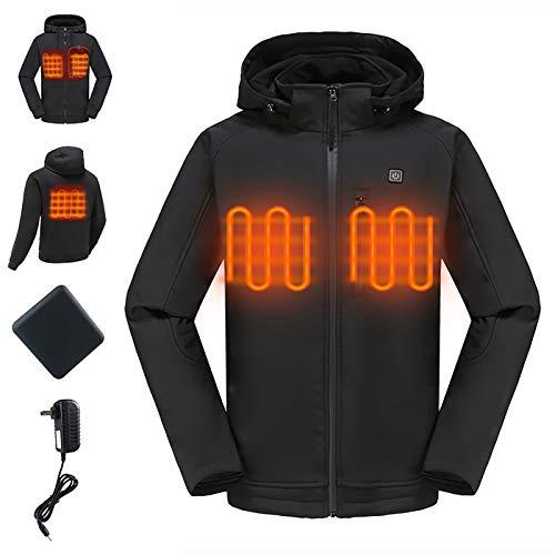 Men's Heated Jacket Hood, Heatin...