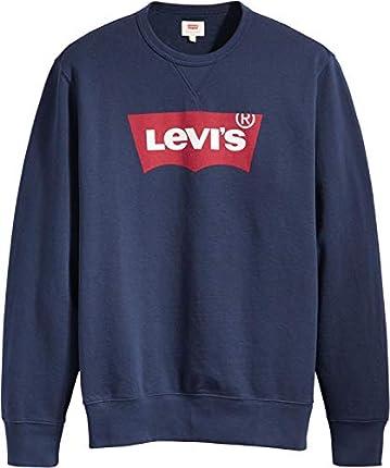 Levi's Graphic Crew B Sudadera, Hm Ssnl Fill 2 Dress Blues, M para Hombre