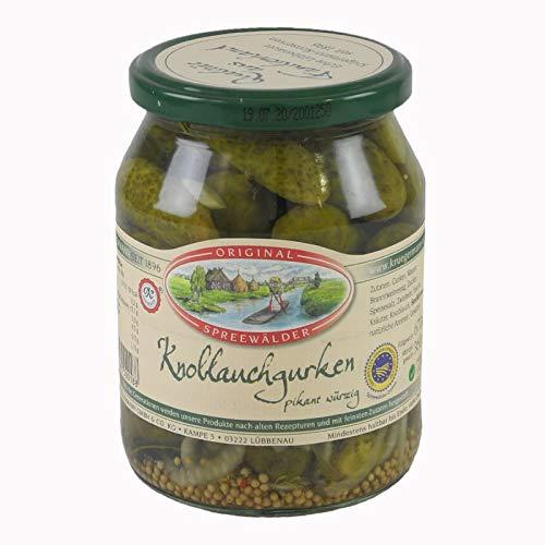 Krügermanns Original Spreewälder Knoblauchgurken (720 ml Glas)