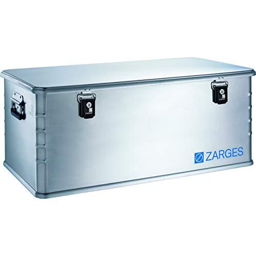 ZARGES Caisse multi-usages en alu - maxi, capacité 135 l - L x l x h ext. 900 x 500 x 370 mm, poids 6,9 kg - caisse caisse combinée caisse en alu caisses caisses combinées caisses en alu caisses universelles cloison modulaire Boîte Boîtes Caisse de