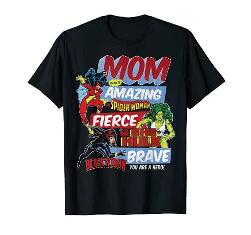Marvel Vintage Retro Amazing Mom Graphic T-Shirt