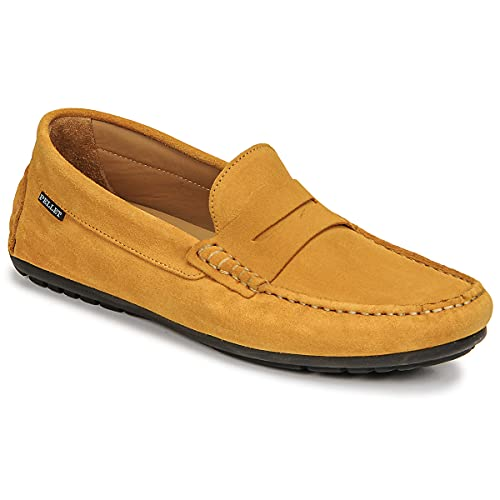Pellet Cador Loafers & Seglarskor Man Gul - 45 - Loafers Shoes