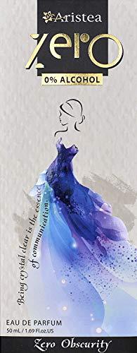 Aristea Zero Obscurity - Eau de Parfum ohne Alkohol - blumig-pudriger Duft für Damen - Parfüm für Frauen (1 x 50 ml)