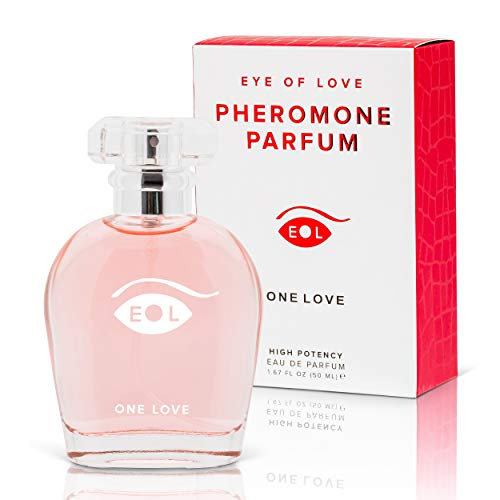 Eye of Love -One Love Pheromone Parfum for Women to Attract Men - Highest Concentration Perfume Spray with Floral Scent, 50 ml
