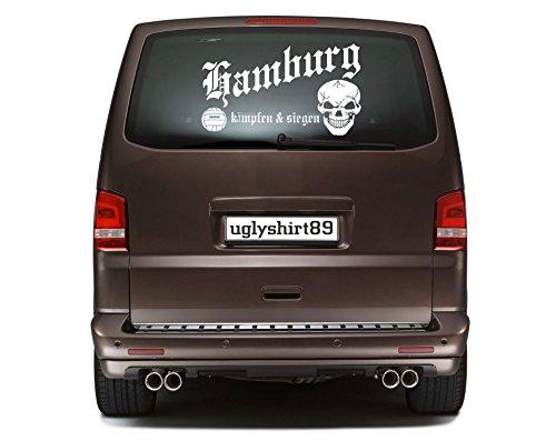Hamburg Autoaufkleber 45 cm | Hardcore | Sticker | Aufkleber | KSM1