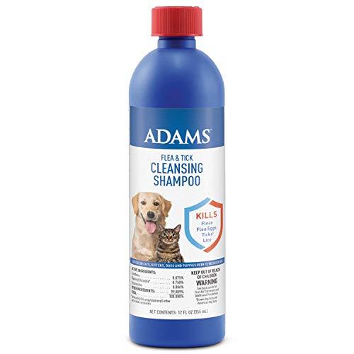 Adams Flea and Tick Cleansing Shampoo