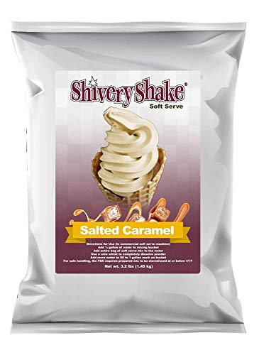 ShiveryShake Salted Caramel Soft Serve Ice Cream Mix