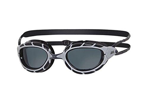 Zoggs Predator Schwimmbrille, Silver/Black, One Size