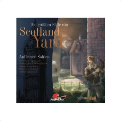 Auf leisen Sohlen audiobook cover art