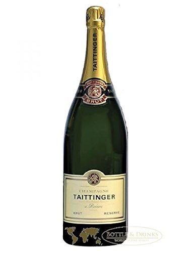 Schaumweine Champagne Taittinger Brut Reserve Magnum 1,5l im Geschenkkarton