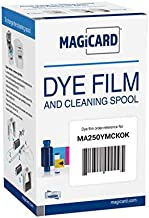 Magicard MA250YMCKOK Color Ribbon Kit (YMCKOK, 250 Prints) for Enduro and Rio Pro Series Card Printers Straight from Manufacturer