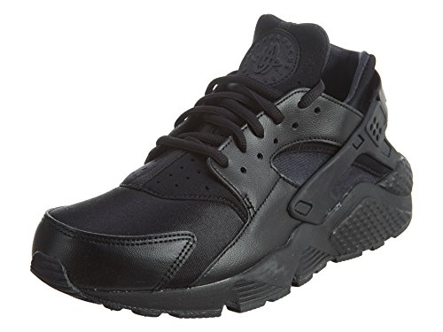 Nike Wmns Air Huarache Run, Scarpe da Ginnastica Basse Donna, Nero (Black 012), 37.5 EU