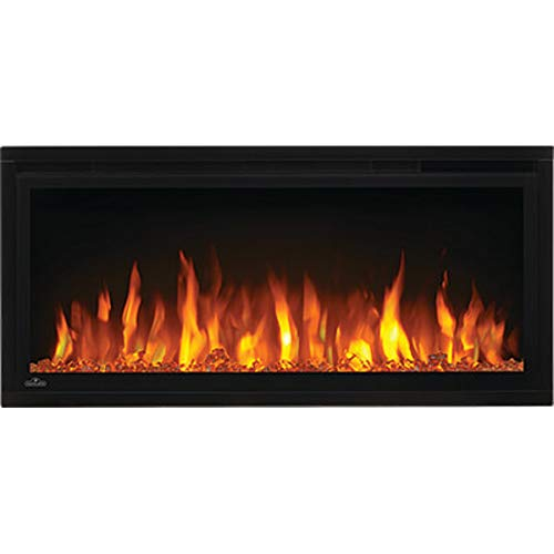 Napoleon Entice-NEFL36CFH Wall Hanging Electric Fireplace, 36 Inch, Black Décor Dining electric Features Fireplaces Home Kitchen