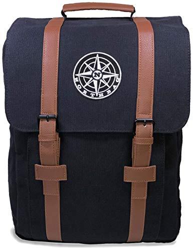 NORTHBAG Rucksack Damen Groß, Schöner Daypack mit Platz für 15,6 Zoll Laptop und A4...