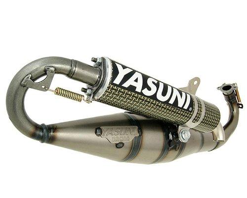 Auspuff YASUNI Carrera C16 Carbon/Aramid für GILERA DNA 50cc, Ice, Runner, Stalker, Storm, ROLLER