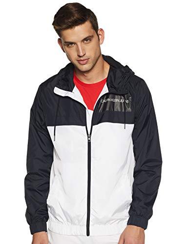 Calvin Klein Jeans Men's Jacket (J307781112_Bright White_L)