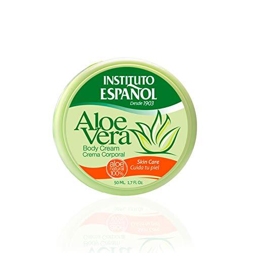 Instituto españo - Aloe vera tarro 50 ml - [paquete de 4]