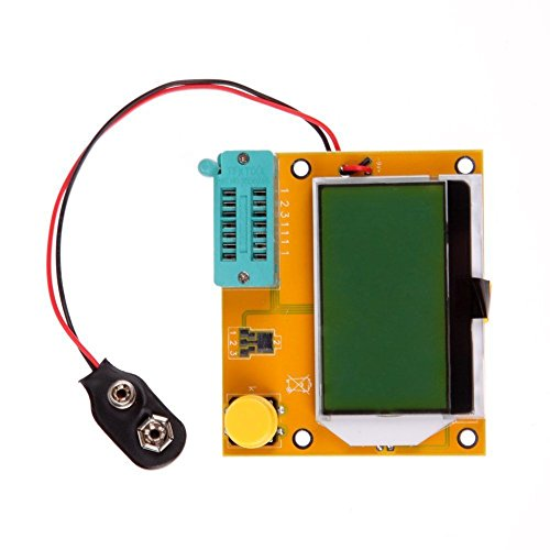 DollaTek Haute qualité LCR-T4 ESR Meter Transistor Tester Diode Triode Capacitance SCR Inductance