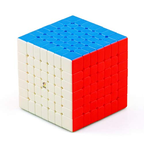 CuberSpeed YuXin Little Magic 7x7 stickerless Speed Cube 7x7x7 stickerless Magic Cube Puzzle