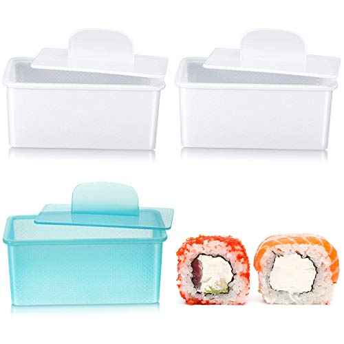 3 moldes de prensa antiadherentes para hacer spam, Musubi, sushi, para hacer spam, Musubi, Sushi, Onigiri