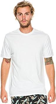 Hurley Men s Staple Premium Short Sleeve T-Shirt White XX-Large