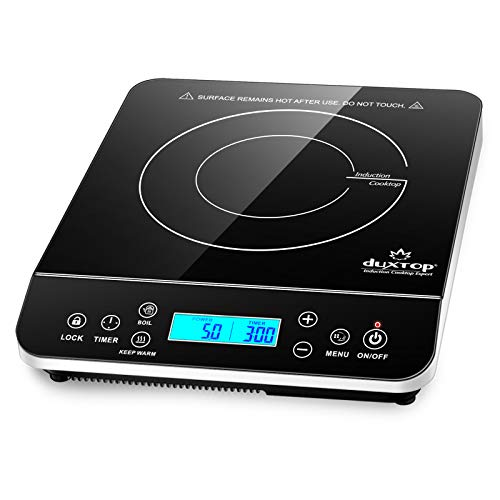Portable Induction Burner Hot Plate with LCD Sensor Touch 1800 Watts