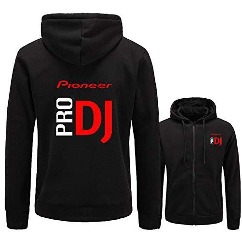 HNOSD Neue 2018 Pioneer Pro DJ Sweatshirt Club Tragen Cdj Nexus Audio Ddj Hoodie Männer Frauen Casual Fleece Herren Hoodies Hip Hop Hoody