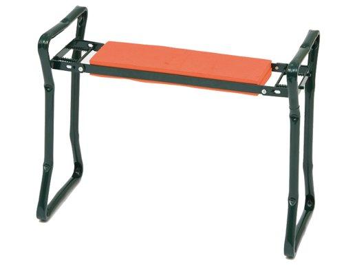 Siena Garden Knie- & Sitzbank, mit Kissen, orange, 560890