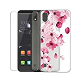 SCDMY Case for ZTE Blade A530 + Tempered Glass Screen
