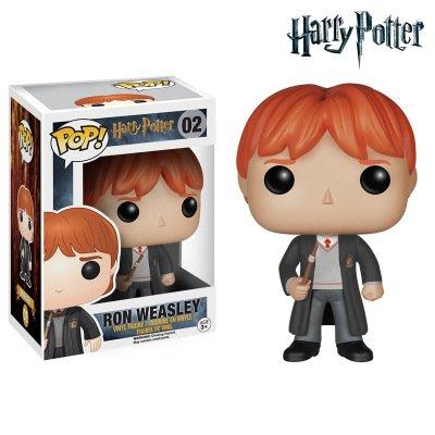 KWELJW Harry Potter Perimeter Funko Pop Hermione Nepluna Doll Doll Doll Pose Ron Weasley Pop Hand