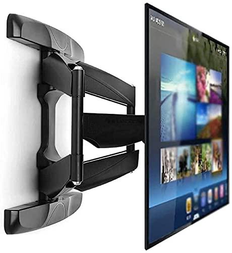 TV Bracket Mount 42 70' TV Wall Mount Bracket Telescopic Arm +12 deg / 2 deg Tilt and 75 deg Swivel +/ 3 deg Level for LED LCD 3D Curved