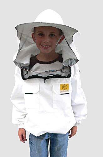 BeeFun Imker-Schutzjacke mit Rundhut für Kinder (146)