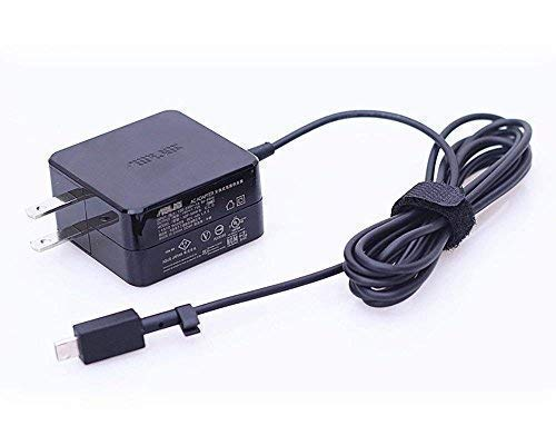 『ノートパソコン交換用 19V 1.75A 33W 充電器 適用する ASUS Eeebook X205T X205TA E202S E202SA E205S E205SA L202S L202SA、Vivobook E200H E200HA L200H L200HA 電源ACアダプター』のトップ画像
