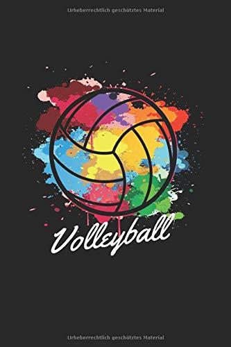 Volleyball | Notizheft/Schreibheft: Volleyball Notizbuch Mit 120 Karierten Seiten (Squared) Inkl. Seitenangabe. Als Geschenk Eine Tolle Idee Für Volleyball Verrückte Oder Profi Volleyballspieler