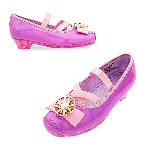 Disney Rapunzel Costume Shoes for Kids - Tangled Size 2/3 YTH Purple