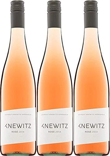 Weingut Knewitz Rosé (Spätburgunder/St. Laurent) Weingut Knewitz Spätburgunder 2018 trocken (3 x 0.75 l)