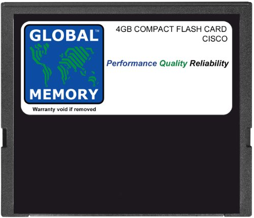 4 GB COMPACT FLASH CARD MEMORY VOOR CISCO 12000 SERIES ROUTERS PRP3 (GM-CFLASH-PRP3-4G)