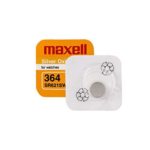 O SR60o 364SR621SW pila botón para reloj oxde D 'plata