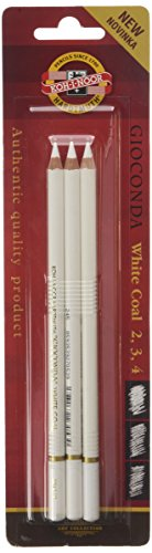 KOH-I-NOOR Bleistift, Kohle, 3 Stück
