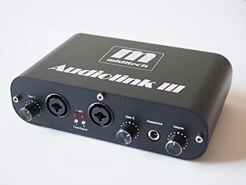【正規輸入品】MIDITECH 品番:AL3 AUDIOLINK 3 2入力2出力オーディオインターフェース・日本語取扱説明書付