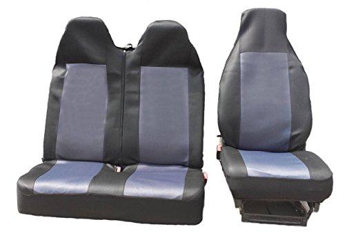 2 + 1 maat 2 zwart-grijs beschermhoes stoelbekleding stoelhoezen stoelhoezen stoelhoezen