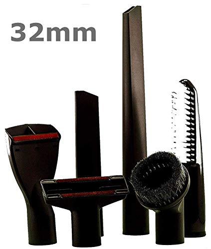 Maxorado XXL - Juego de boquillas para aspiradora de coche de 32 mm compatibles con Thomas Numatic Henry James...