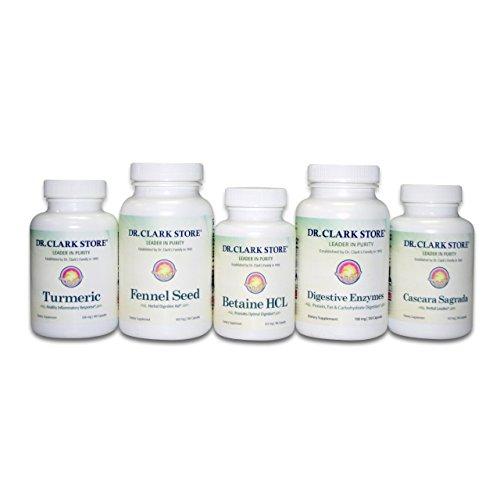 Dr. Clark Digestive Aid - Digestive Detox Dietary Supplement Colon...