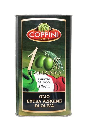 Huile d olive extra vierge 100% Italienne extraite à froid 1 bidon de 3 litres