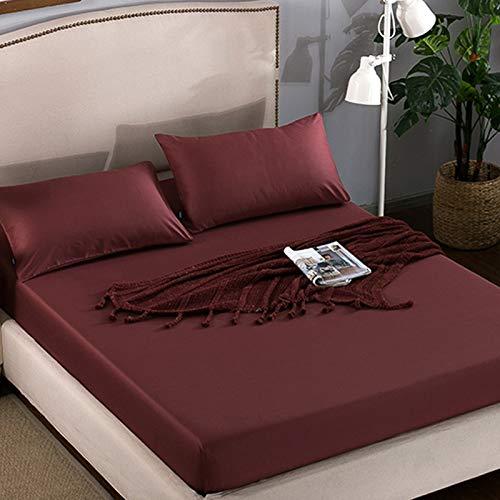 NTtie Protector de colchón - Protector de colchón antialérgico Protector de colchón de Hotel Pure Color
