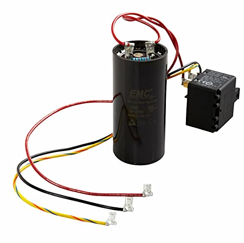 1 Pc of 5-2-1 Compressor Saver Kit CSRU1 Hard Start Capacitor with Relay for 1-2-3 Tons
