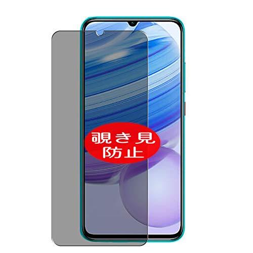 VacFun Anti Espia Protector de Pantalla, compatible con XIAOMI Redmi 10X Pro 5G, Screen Protector Filtro de Privacidad Protectora(Not Cristal Templado) NEW Version