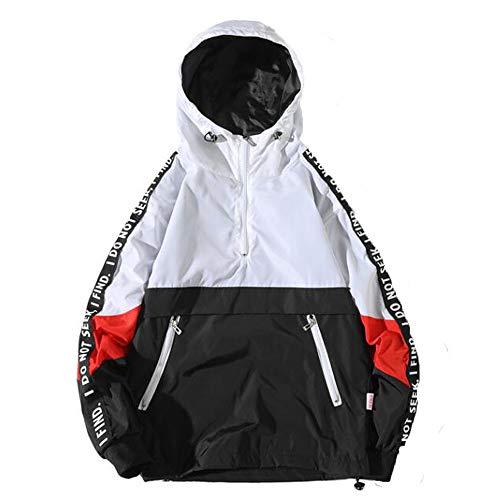 OHQ Camisa Hombre Sudadera OtoñO Invierno Casual Stand Collar Coat Jacket Zipper Outwear Coat CáLido Y CóModo