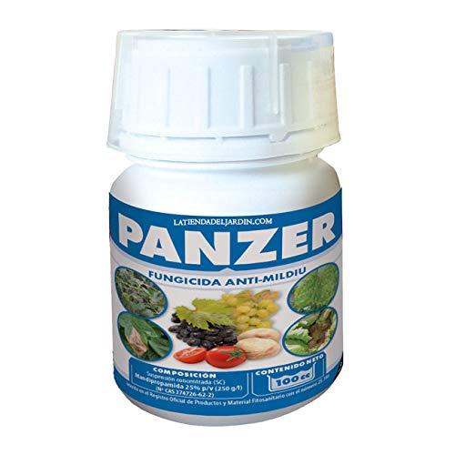 Suinga PRODUCTO CONTRA HONGOS Y MOHOS PERJUDICIALES PARA LAS PLANTAS. Panzer anti-mildiu de 100cc. Recomendado Vid
