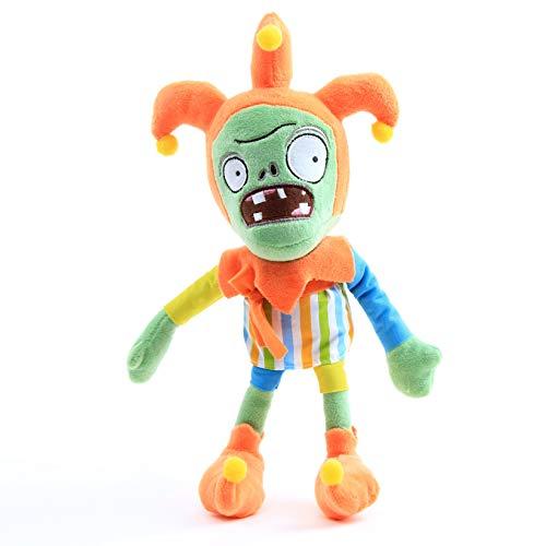 uiuoutoy Pflanzen gegen Zombies Plüsch Spielzeug Puppen PVZ Jester Zombie Plüschtiere Clown Zombie Kuscheltiere Geschenk